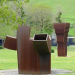 Monumentale sculpturen in museum Chillida-Leku